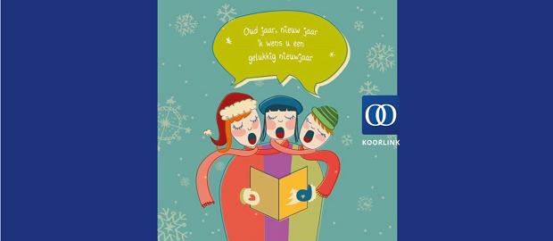 KOORLINK wenst u een gelukkig nieuwjaar!