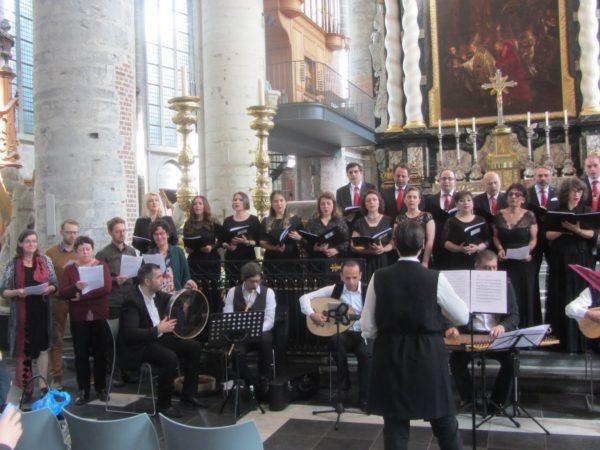 17/4/17 Rotterdams Turks Klassiek Muziekkoor